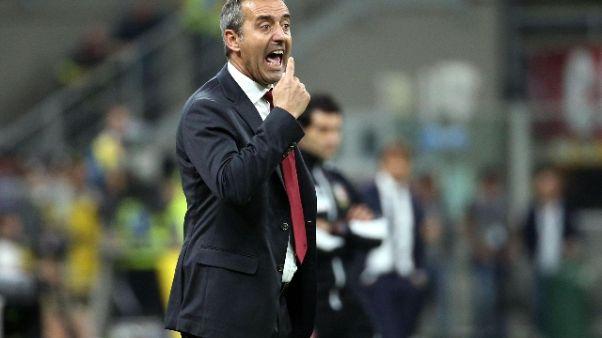 "Milan, Giampaolo ""responsabilità mie"""