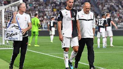 Juve: Danilo e De Sciglio ancora fermi