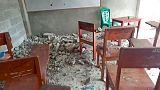 Strong quake strikes Indonesia's Seram island, no tsunami risk