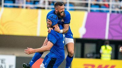 Rugby: Mondiali, Italia-Canada 48-7