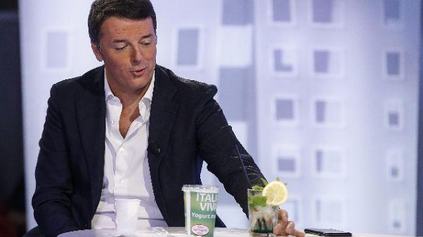 Renzi, taglio parlamentari è robetta