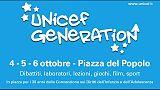 A Roma al via 'Unicef Generation'