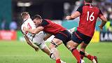 England run in seven tries to down United States 45-7