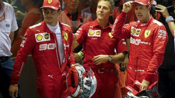 F1: in Russia Ferrari ci riprova