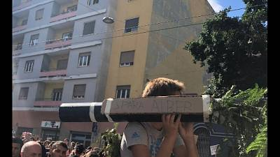 "Clima, ""bazooka spara alberi"" a Cagliari"