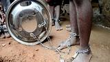 Hundreds of captives, many boys in chains, freed in Nigeria