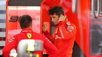 F1: Leclerc,c'è da lavorare su qualifica