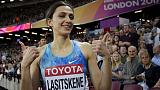 Russian world champion Lasitskene ready to train abroad for chance at Olympics