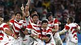 Hosts Japan stun Ireland 19-12 in massive World Cup upset