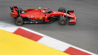 Gp Russia: Leclerc domina terze libere