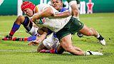 Rugby: Mondiali, Giappone batte Irlanda