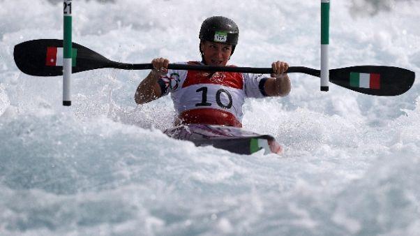 Canoa: prima carta olimpica Italia