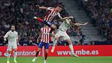 Real top La Liga after Madrid derby draw at Atletico