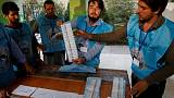 Afghan election sees big drop in voter numbers - unofficial estimate