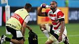 Japan's 8-on-10 scrum practice paid dividends, says Leitch