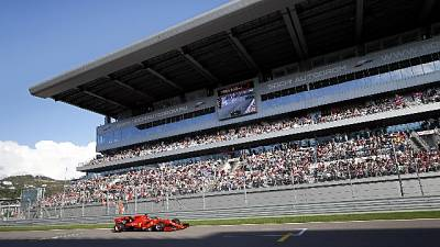 Gp Russia: Vettel scatta in testa