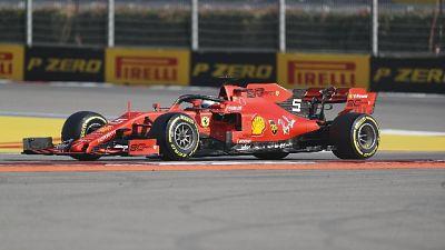 Gp Russia: Vettel costretto al ritiro