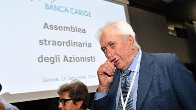 Carige taglia 45 filiali, 18 in Liguria