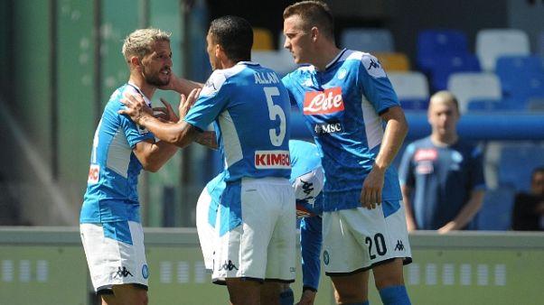 Serie A: Napoli-Brescia 2-1