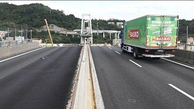 Ponte Genova, al 'varo' primo impalcato