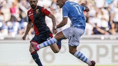 Serie A: vincono Lazio e Roma