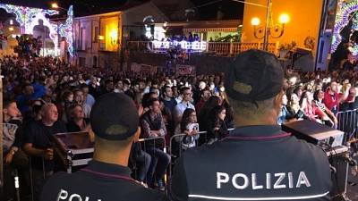 """Festa patronale """"blindata"""" in Calabria"""