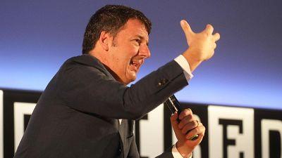 Renzi, noi facciamo partito no-tax