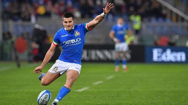 Rugby: Allan, tanta grinta col Sudafrica