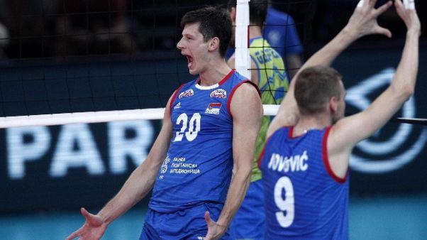 Volley: la Serbia vince l'Europeo
