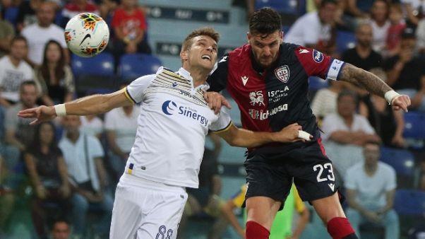 Serie A: Cagliari-Verona 1-1
