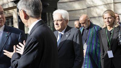 Mattarella a Parigi a esequie Chirac