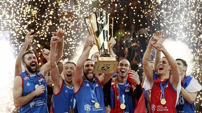 Volley,Vucic riceve neocampioni d'Europa
