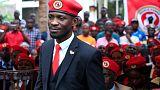 Ugandan presidential hopeful Bobi Wine denounces government ban of his 'red beret' symbol