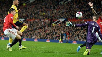 Premier, Manchester Utd.-Arsenal 1-1