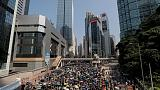 Protesters flood Hong Kong's streets on Communist China's birthday