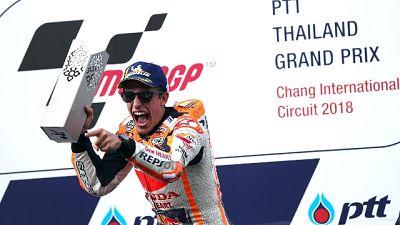 Moto: Marquez,'spettacolo in Thailandia'