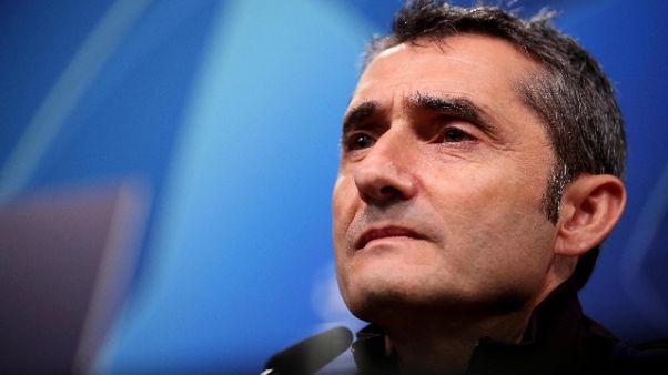 Champions: Valverde, con Inter sarà dura