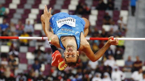 Atletica:Tamberi in finale mondiale alto