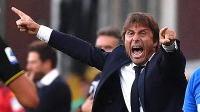 Inter: Conte, Lukaku è rimasto in sede