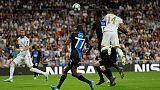 Champions: Real Madrid-Club Brugge 2-2
