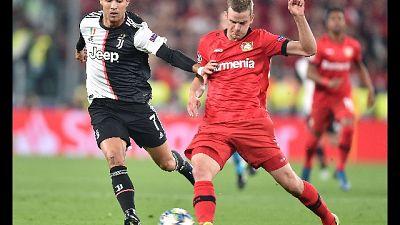 Champions: Juventus-Bayer Leverkusen 3-0