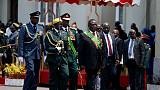Zimbabwe's president pleads for patience in bringing economy back from 'dead'