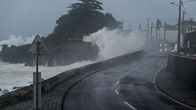Hurricane Lorenzo strikes Azores, power cuts reported