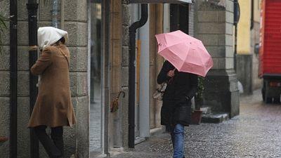 Maltempo: Trieste,strade e case allagate