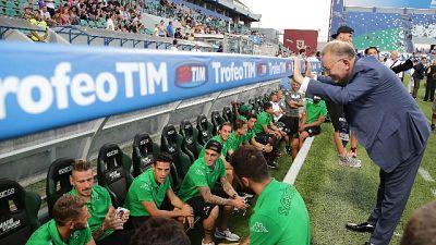 Squinzi: il cordoglio della Lega Serie A