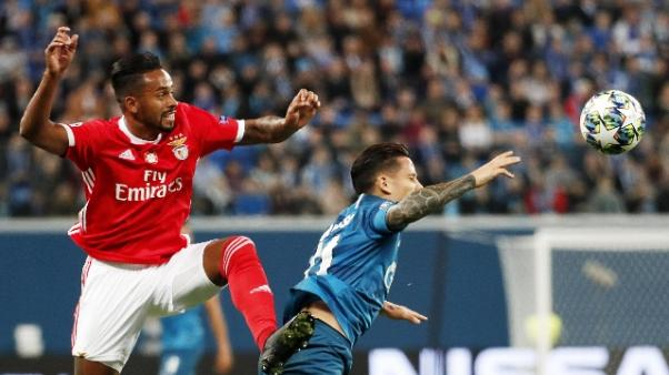 Champions: Zenit-Benfica 3-1