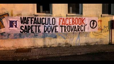 Blocco Studentesco, cancellati da Fb