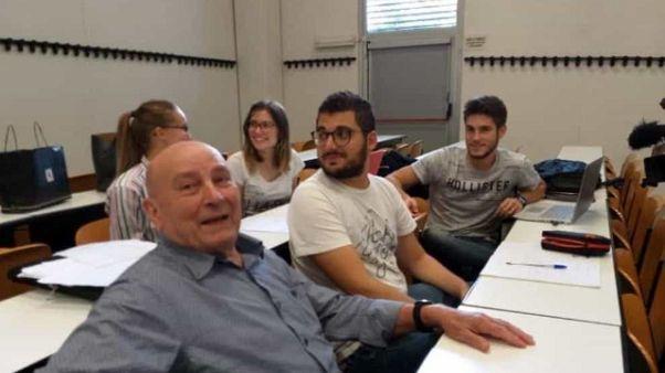 A Piacenza matricola in aula di 81 anni