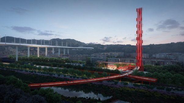 Ponte:parco sotto viadotto è carbon free