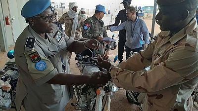 Ménaka : de nouvelles Motos pour les Unités de Police de proximité